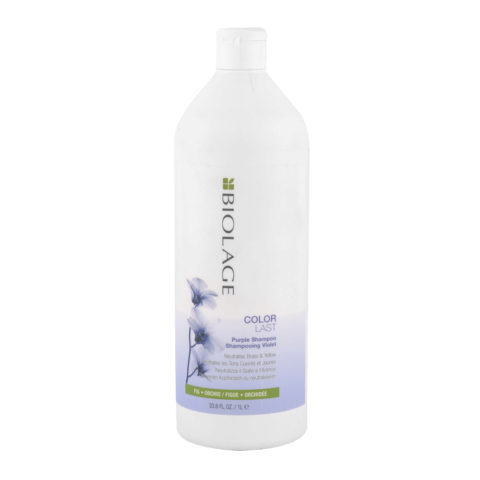 Biolage Colorlast Purple Shampoo 1000ml - Anti Gelbstisch Shampoo