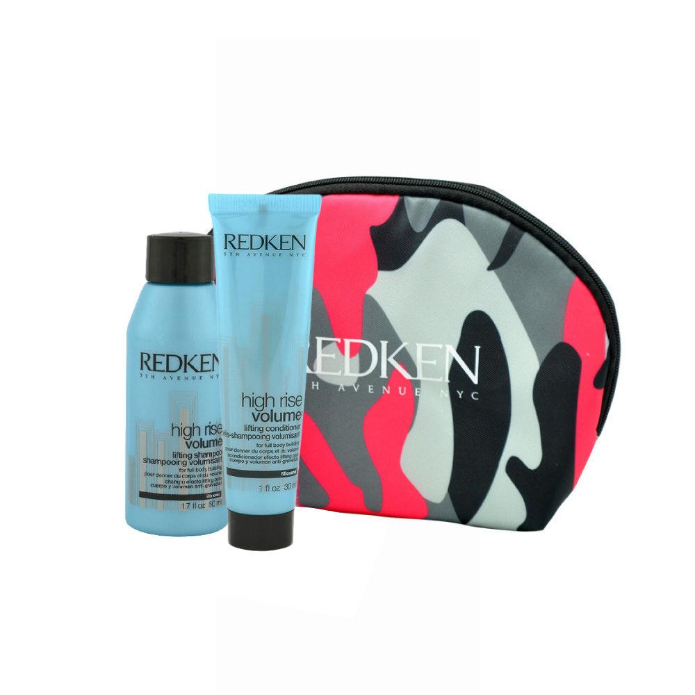 Redken High Rise Volume Lifting Shampoo 50ml Conditioner 30ml Geschenk Handtasche
