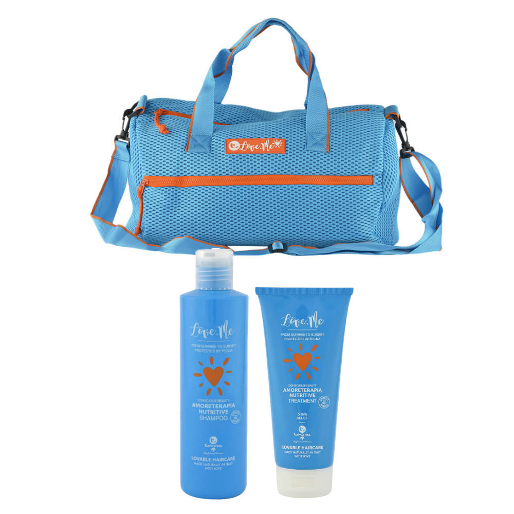 Tecna Sun Amoreterapia Shampoo 250ml Treatment 200ml Gratis Sun bag