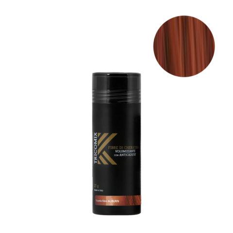 Tricomix Fibre Auburn 27gr - Volumisierende Keratinfasern Mit Anti-Haarausfall-Effekt Dunkelrot