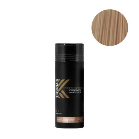 Tricomix Fibre Light Brown 27gr - Volumisierende Keratinfasern Mit Anti-Haarausfall-Effekt Hellbraun
