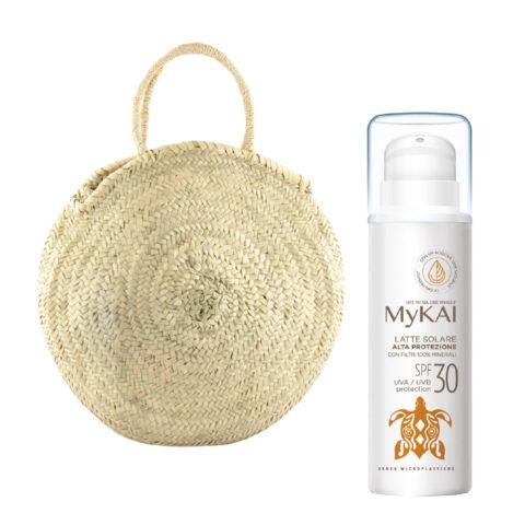 Mykai Sonnenmilch Hochschutz SPF30, 150ml Kostenlose Tasche