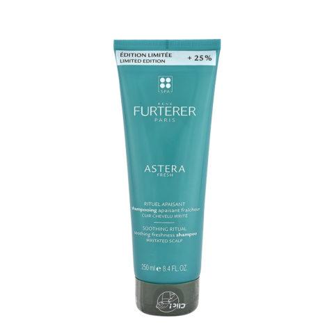 René Furterer Astera Fresh Soothing Freshness Shampoo 250ml - Erfrischend Esothing Für Gereizte Kopfhaut - Limited Ed.