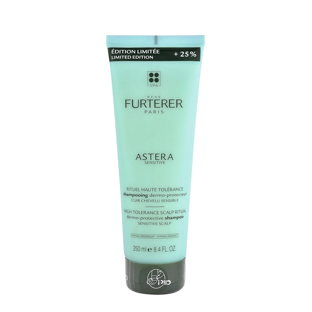 René Furterer Astera Sensitive Dermo Protective Shampoo 250ml - Shampoo Für Empfindliche Kopfhaut - Limited Edition