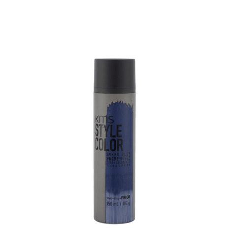 Haarfarbe spray blau