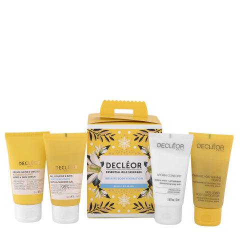 Decléor Essential Oils Skincare Infinite Body Hydration Neroli Bigarade - Kit 4 Körperpflege Produkte
