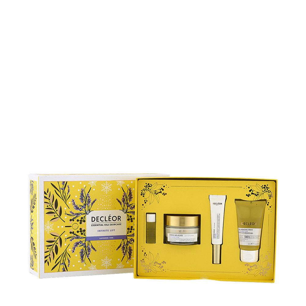 Decléor Essential Oils Skincare Infinite Lift Lavender Fine - Kit 4 Produkte