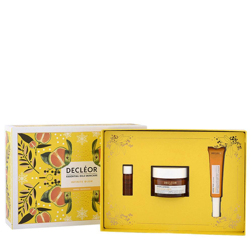 Decléor Essential Oils Skincare Infinite Glow Green Mandarin - Kit 3 Produkte