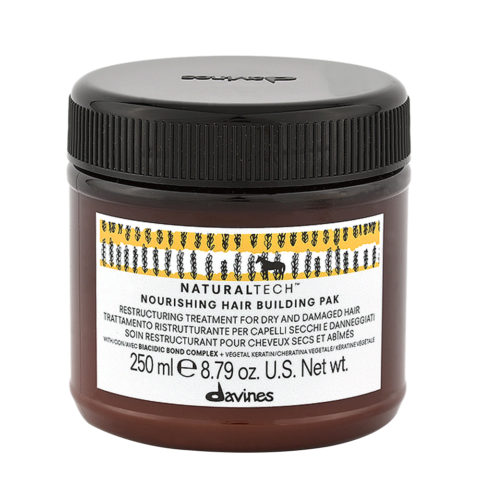 Davines Nourishing Hair Building Pak Hair Mask 250ml - Restrukturierende Haarmaske