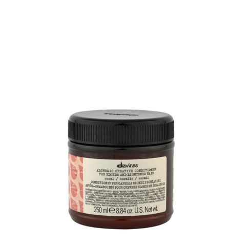 Davines Alchemic Creative Conditioner Coral 250ml - Coralfarbener Conditioner