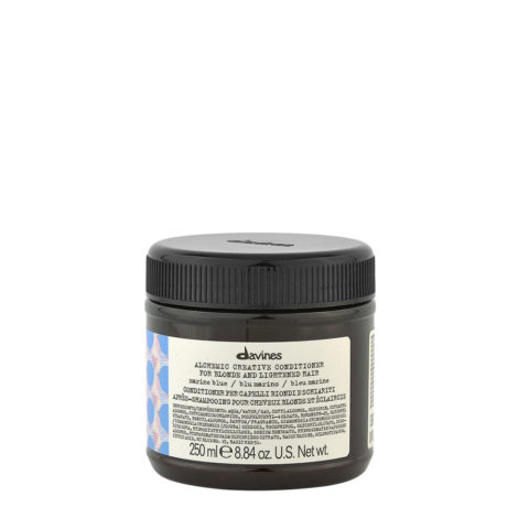 Davines Alchemic Creative Conditioner Marine Blue 250ml - Marineblaufarbener Conditioner