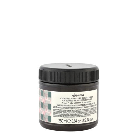 Davines Alchemic Creative Conditioner Teal 250ml - Blaugrünfarbener Conditioner