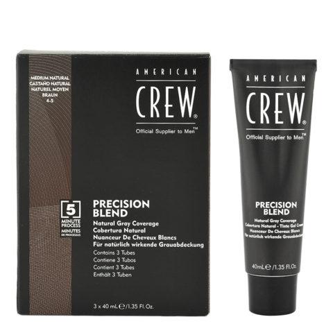 American Crew Classic Precision Blend 4-5, 3x40ml