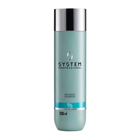 System Professional Balance Shampoo B1, 250ml - Empfindliches Kopfhaut Shampoo