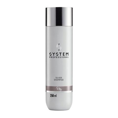 System Professional Silver Shampoo X1s, 250ml - Anti Gelb Shampoo