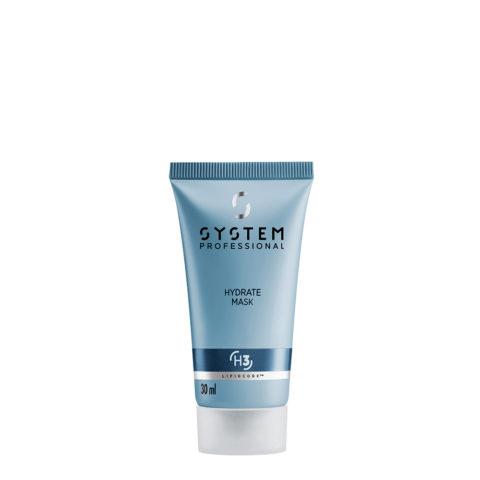 System Professional Hydrate Mask H3, 30ml - Feuchtigkeitsspendende Maske