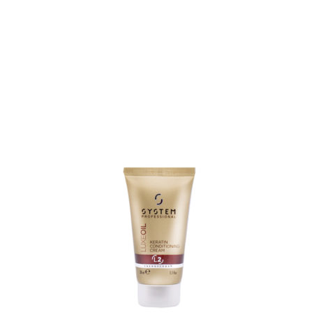 System Professional LuxeOil Conditioning Cream L2, 30ml - Conditioner Mit Keratin