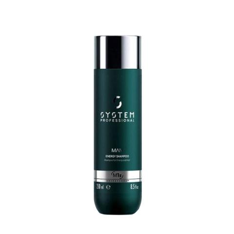 System Professional Man Energy Shampoo M1e, 250ml - Anti Haarausfall Shampoo