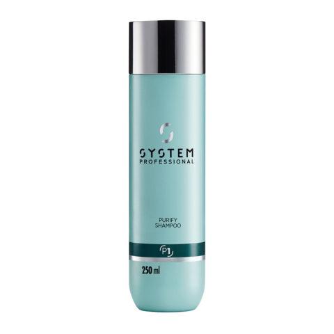 System Professional Purify Shampoo P1, 250ml - Anti Schuppen Shampoo
