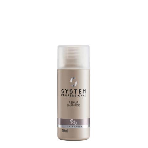 System Professional Repair Shampoo R1, 50ml - Shampoo Für Beschädigtes Haar