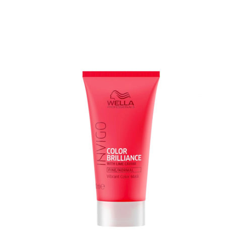 Wella Invigo Color Brilliance Mask 30ml - normale / feine Maske