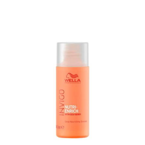 Wella Invigo Nutri-Enrich Deep Nourishing Shampoo 50ml - pflegendes Shampoo