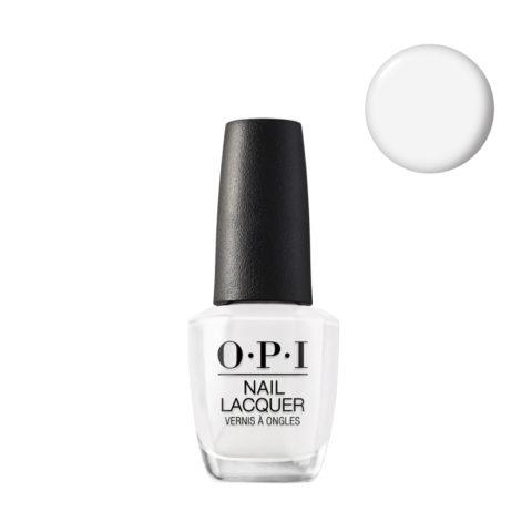 OPI Nail Lacquer NL L00 Alpine Snow 15ml