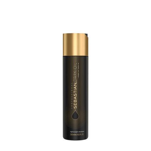 Sebastian Dark Oil Lightweight Shampoo 250ml - Feuchtigkeitsspendendes Shampoo