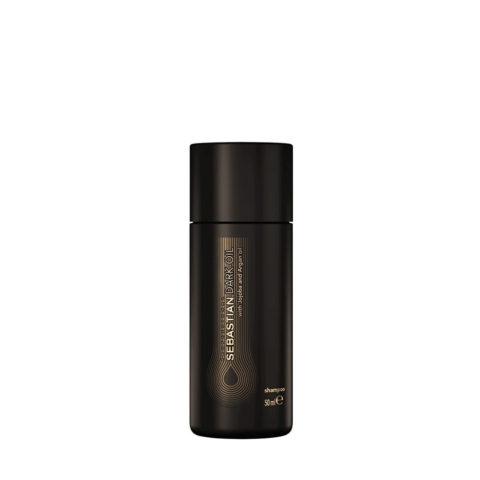 Sebastian Dark Oil Lightweight Shampoo 50ml - Feuchtigkeitsspendendes Shampoo