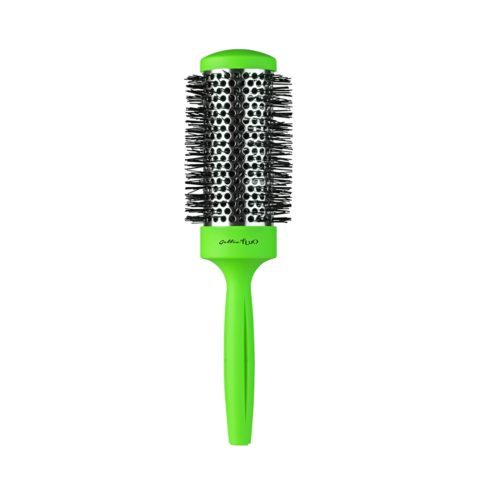 Gettin fluo Green Thermal Brush 43mm