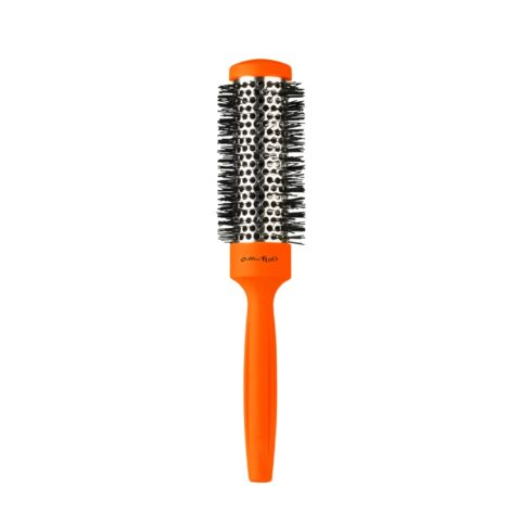 Gettin fluo Orange Thermal Brush 32mm