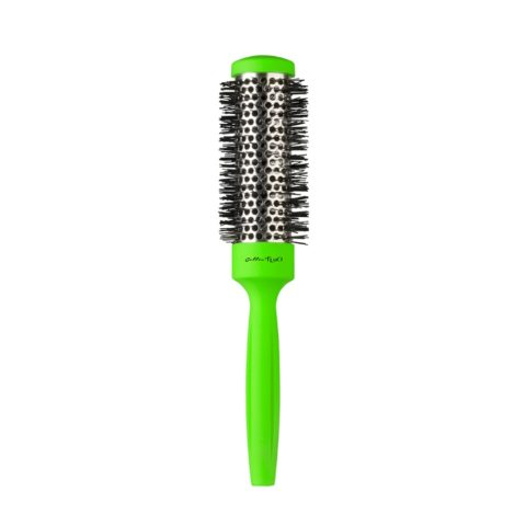 Gettin fluo Green Thermal Brush 32mm