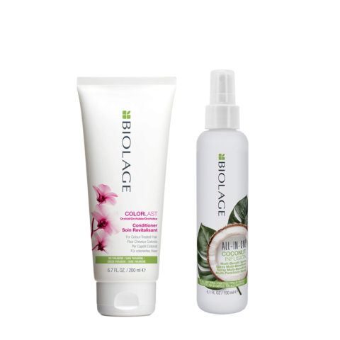Biolage Colorlast Conditioner 200ml e All In One Coconut Spray 150ml
