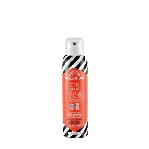 Solarium Invisible Protection Sunscreen Spray SPF50 Gesicht Und Körper 150ml