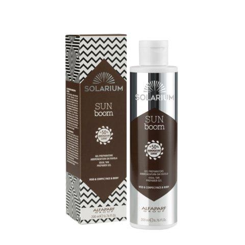 Solarium Ideal Tan Preparer Gel Gesicht Und Körper 200ml