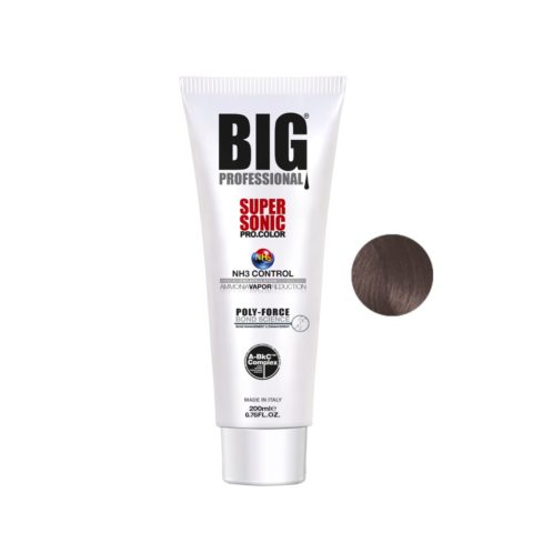 Big Pro Supersonic Pro Color 6.01 Nocciola naturale scuro cenere 200ml