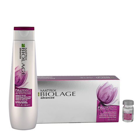 Biolage advanced FullDensity Shampoo 250ml Stemoxydina fiale 10x6ml