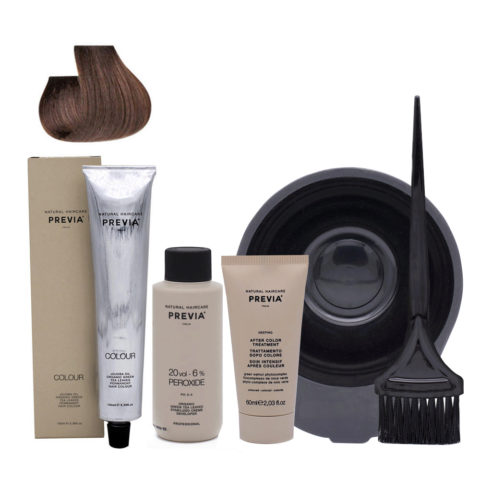 Previa Color Do It Yourself Kit 5.0 Hellbraun