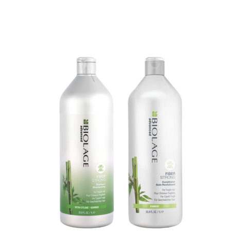 Biolage Fiberstrong Shampoo 1000ml e Conditioner 1000ml