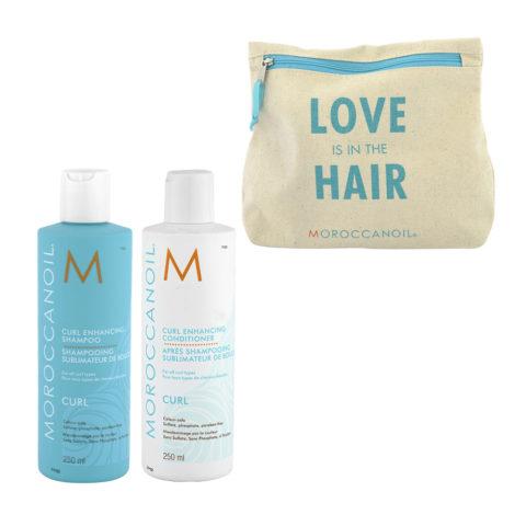 Moroccanoil Curl Shampoo 250ml Conditioner 250ml