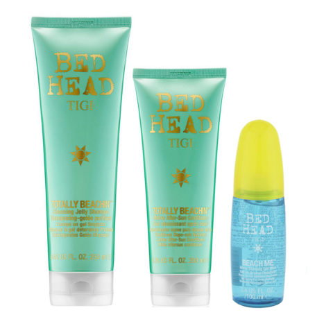 Tigi Bed Head Sun Kit Shampoo 250ml Conditioner 250ml Gel Mist 100ml