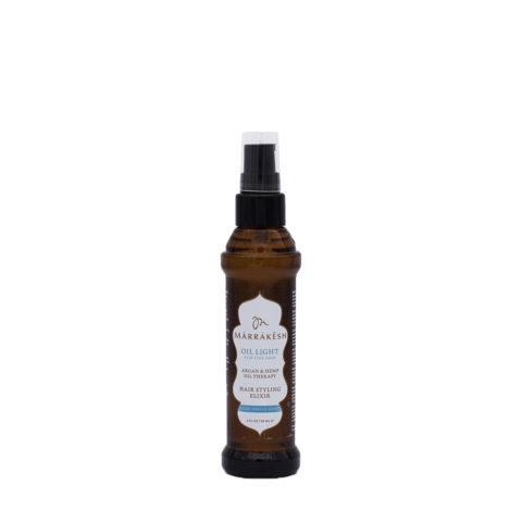 Marrakesh Fine Hair X Oil Light Hair Styling Elixir 60ml - Leichtes Feuchtigkeitsöl Für Feines Haar