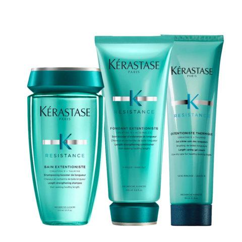 Kerastase Résistance Extentioniste Shampoo 250ml Conditioner 200ml Wärmeschutzcreme Gel 150ml