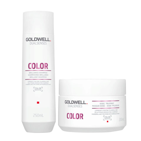 Goldwell Dualsenses Color Brilliance shampoo 250ml and Mask for Coloured Hair 200ml