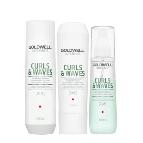 Goldwell Dualsenses Curly twist Hydrating Shampoo 250ml Conditioner 200ml Spray 150ml for Curly Hair