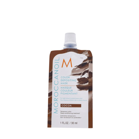 Moroccanoil Color Deposit Mask Cocoa 30ml - Kakaofarbene Maske