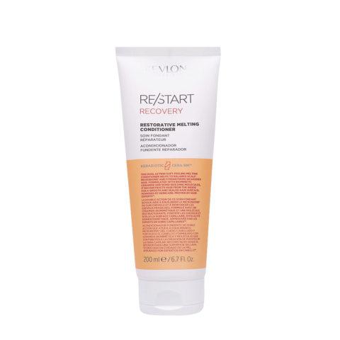 Revlon Restart Recovery Restorative Melting Conditioner 200ml - Restrukturierungsconditioner für geschädigtes Haar