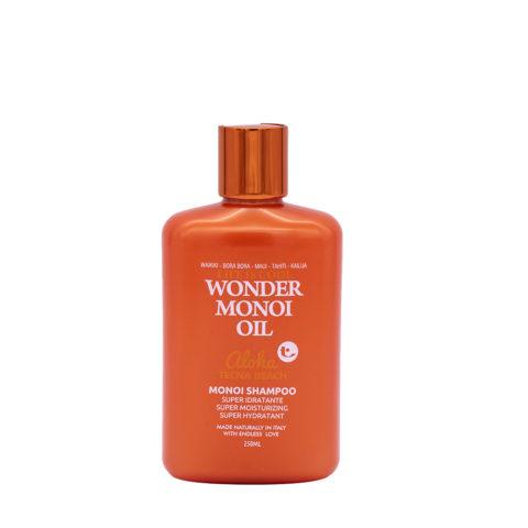 Tecna Wonder Monoi Oil Shampoo 250ml - Super Feuchtigkeitsspendende Sonnenshampoo
