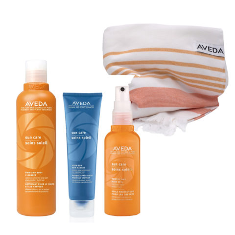 Aveda Sun Hair & Body Cleanser 250ml Mask 125ml Hair Protection Spray 100ml