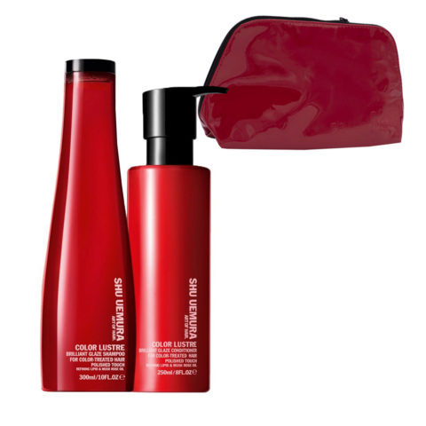 Shu Uemura Color lustre kit shampoo 300ml conditioner 250ml